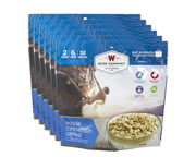 WISE FOOD OUTDOOR COMIDA PREPARADA 6 PACK APPLE CINNAMON CEREAL